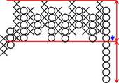 """Крестики-нолики"" Стратегия /  Point & Figure strategie Image021_e0523"